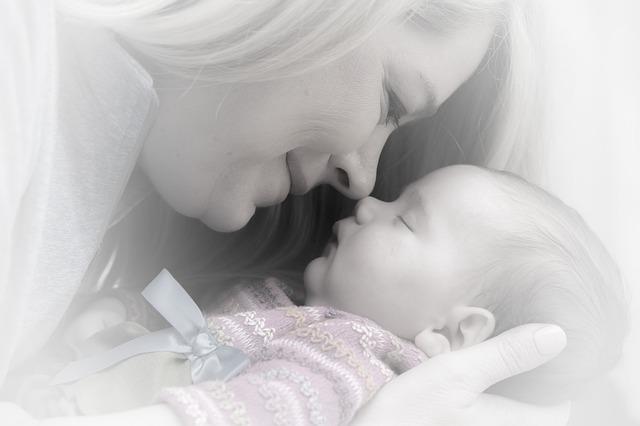 matka a miminko