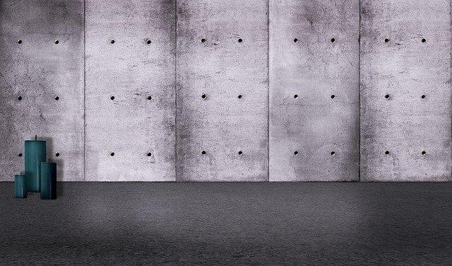 betonové panely coby plot