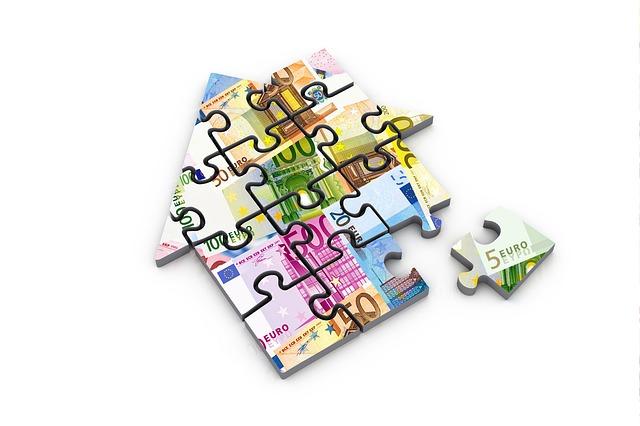 znázornění skládání hypotéky