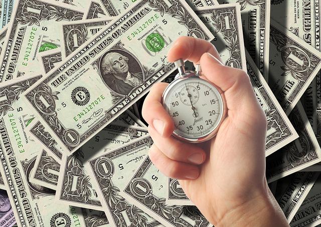 stopky a dolary