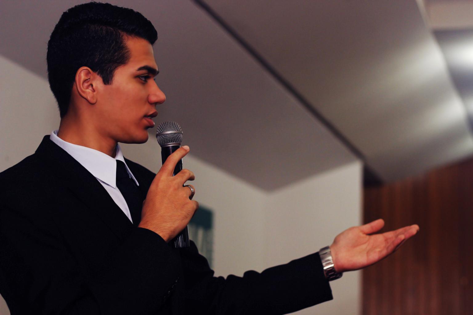 proslov pro publikum